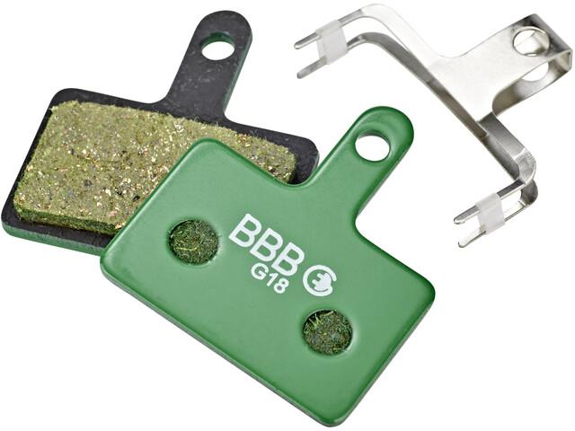 BBB DiscStop E-Bike BBS-53E Bremseklodser, green